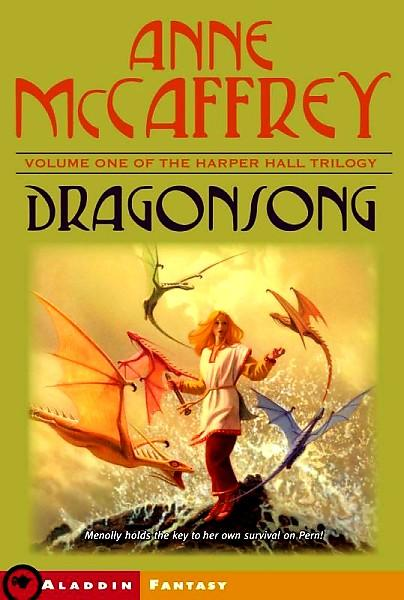 dragonsong by anne mccaffrey book cover
